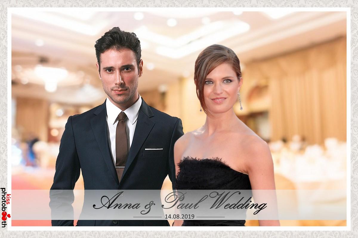Photo Design Wedding Layout 4 (Classic - White frame)